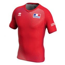 Maillot Homme ROUGE Equipe De France Volleyball 2020